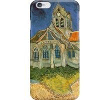 The Church at Auvers-sur-Oise by Van Gogh iPhone Case/Skin