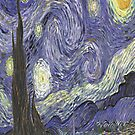 Starry Night - Van Gogh by skyeaerrow