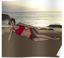 Ariana Tisdale in Swimsuit Poster