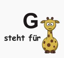 G steht für ... by Hallo Wildfang