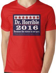 vote Dr. Horrible 2016 Mens V-Neck T-Shirt
