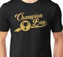 CHAMPION BOY TEE (GOLD) Unisex T-Shirt