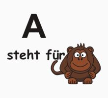 A steht für.... Kids Clothes