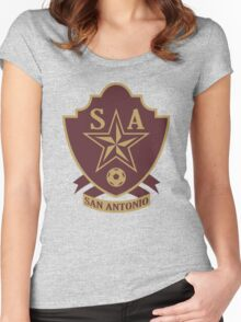 San Antonio // America League // PCGD Women's Fitted Scoop T-Shirt