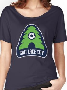 Salt Lake City // America League // PCGD Women's Relaxed Fit T-Shirt