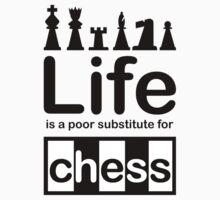Chess v Life - White Kids Clothes