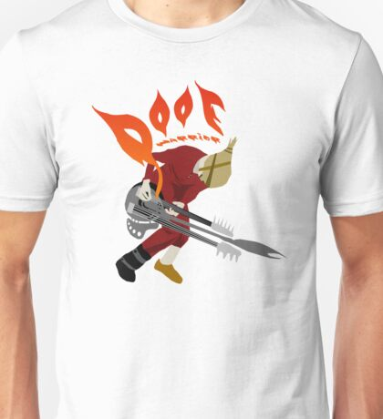 DOOF Warrior VS The World fan art Unisex T-Shirt