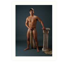 Greek God Art Print