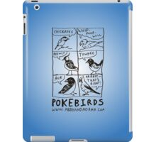 Pokebirds iPad Case/Skin
