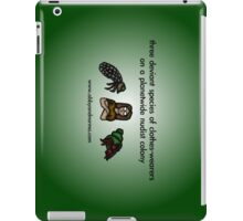 Deviant Clothes-Wearers iPad Case/Skin
