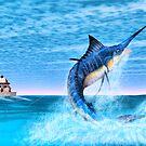 Marlin Fishing by Walter Colvin