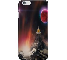 where the spiritual and cosmic converge iPhone Case/Skin
