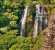 Opaekaa Falls 2 by Tiffany-Rose
