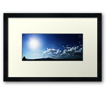 ©HCS Light My Clouds Framed Print