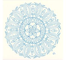 Bloom Mandala Photographic Print