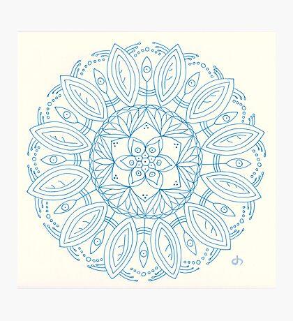 Bloom Mandala Photographic Print