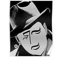 Typortraiture Bogart Poster