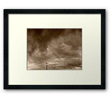 ©HCS Cloudscape Tower III Framed Print