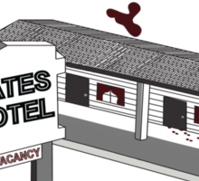 Visit Bates Motel Sticker
