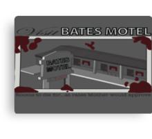 Visit Bates Motel Canvas Print
