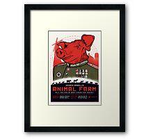 Animal Farm Movie Poster Framed Print