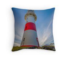 Low Head Lighthouse, Tasmania, Australia Throw Pillow