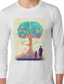 ColorBlowUp Long Sleeve T-Shirt