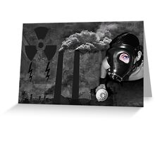 ╭∩╮( º.º )╭∩╮HELP!! STOP POLLUTING OUR PLANET OPEN YOUR EYES AND HEART╭∩╮( º.º )╭∩╮ Greeting Card