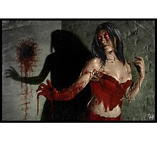 Red Right Hand 002 Photographic Print