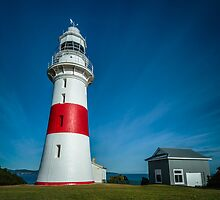 Low Head Lighthouse and old Generator Shed, Tasmania, Aust. by fotosic