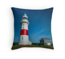 Low Head Lighthouse and old Generator Shed, Tasmania, Aust. Throw Pillow