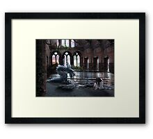 In my sight you where on time Framed Print