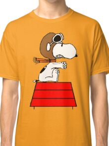Red Baron Snoopy Classic T-Shirt
