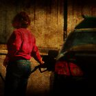 Pumping Gas by Ginger  Barritt