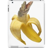 Croco-nana iPad Case/Skin