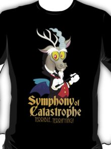 Discord's Symphony of Catastrophe (My Little Pony: Friendship is Magic) T-Shirt
