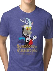 Discord's Symphony of Catastrophe (My Little Pony: Friendship is Magic) Tri-blend T-Shirt