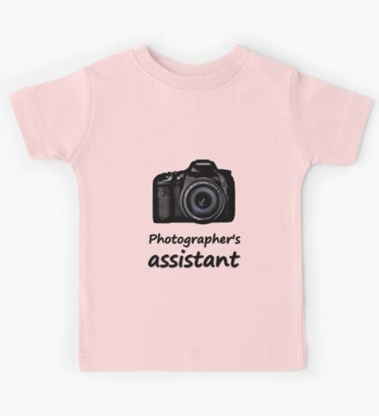 Photographer's assistant Kids Tee
