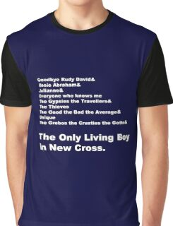 Carter USM - The Only Living Boy in New Cross Line-Up Graphic T-Shirt