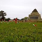 Shrine of Remembrance by CJMcFarlane