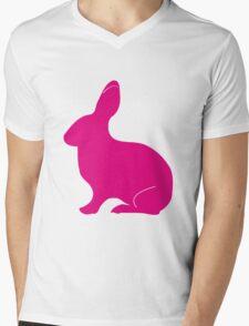 Bunny Mens V-Neck T-Shirt