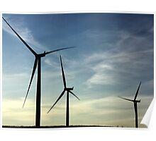 Wind Farm - Western WA. Poster