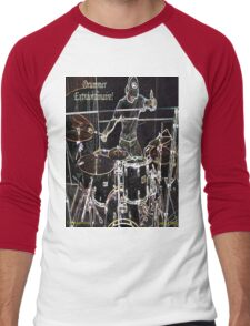 DRUMMER EXTRAORDINAIRE! Men's Baseball ¾ T-Shirt