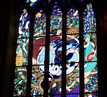 The Magdalene window, St Peter's Anglican Cathedral, Adelaide... by Jan Stead JEMproductions