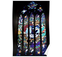 The Magdalene window, St Peter's Anglican Cathedral, Adelaide... Poster
