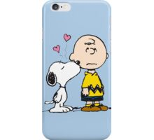 Snoopy and Charlie iPhone Case/Skin