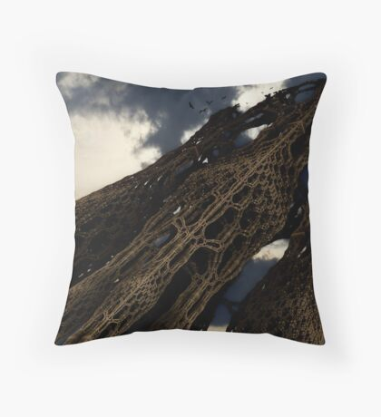 The Home Of Evil  Throw Pillow