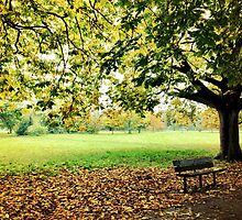 Autumn in Tooting Common by Ludwig Wagner