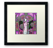 Psychedelic Aphrodite Framed Print