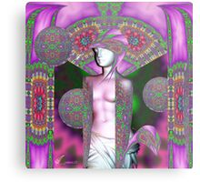 Psychedelic Aphrodite Metal Print